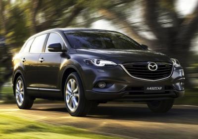 Новое поколение модели Mazda CX-9 представят в Лос-Анджелесе