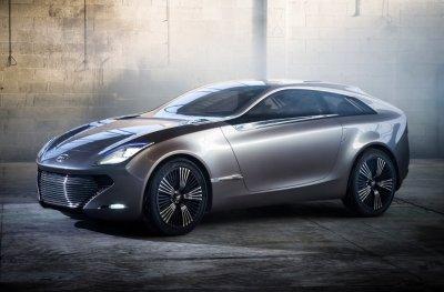 Появились тизерные изображения гибридной модели Hyundai IONIQ