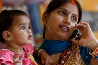 Число абонентов мобильной связи в Индии превысило 1 миллиард