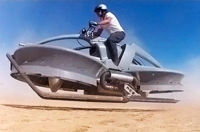 В Китае планируют начать массовое производство летающих мотоциклов