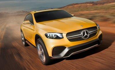 Кроссовер Mercedes-Benz GLC Coupe сняли на видео практически без камуфляжа (видео)
