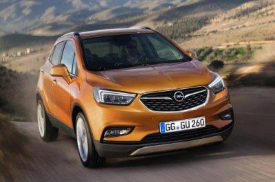 Компания Opel официально представила обновленный кроссовер Mokka X 2016