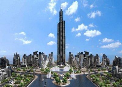 СМИ: В Токио построят небоскреб высотой более полутора километров