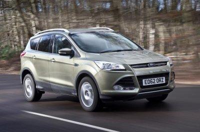 Обновленный Ford Kuga получит новый дизельный двигатель
