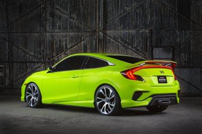 Обнародованы комплектация и стоимость купе Honda Civic Coupe 10 поколения