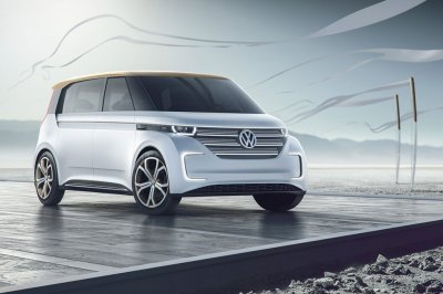 Volkswagen представил перспективный электромобиль Budd-e