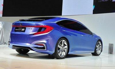 В Сети появились шпионские фотографии нового хэтчбека Honda Gienia