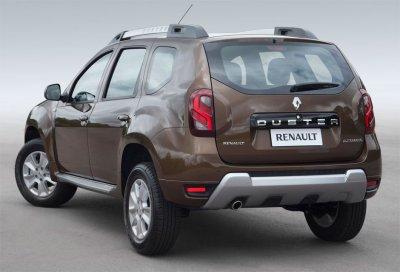 Renault Duster получит семиместный вариант