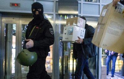 Сотрудники ФСБ проводят обыск в российском офисе Amway