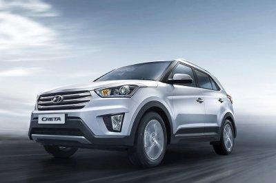 Hyundai объявила цены на новый кроссовер Creta