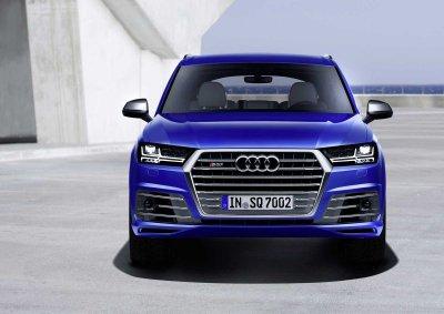 �������� ����������� ���� �� Audi SQ7 TDi 2017