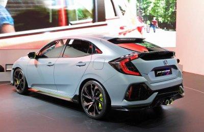 Honda начинает выпуск хэтчбека нового поколения Civic X