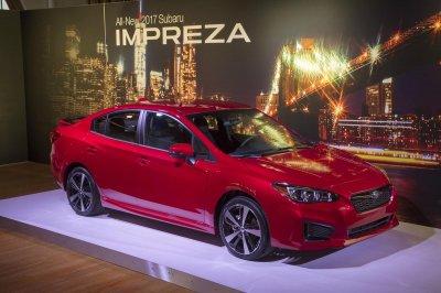 Subaru Impreza 2017 стала более безопасной