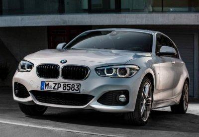 Появились первые «живые» фото седана BMW 1 Series