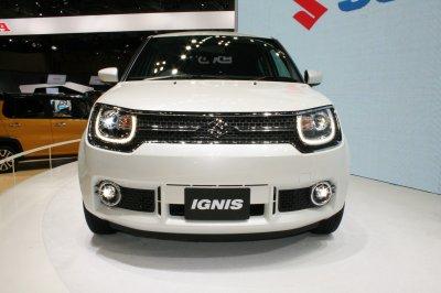 Suzuki презентовала новый компактный кроссовер Ignis в Париже