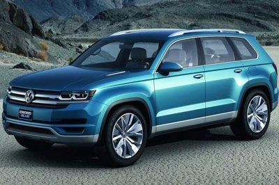 Volkswagen представит в октябре 7-местный кроссовер Atlas