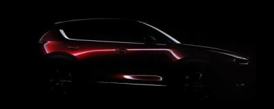Mazda опубликовала тизер нового поколения кроссовера CX-5