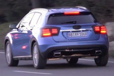 Фотошпионы заметили обновленный Mercedes-Benz GLA на тестах