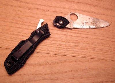В Татарстане женщина нанесла мужу удар такой силы, что нож сломался