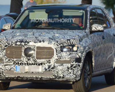 Фотошпионы засняли новый Mercedes-Benz GLE во время тестовых испытаний