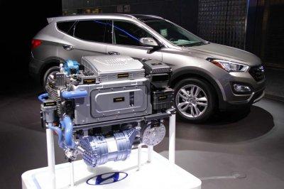 В 2018 году Hyundai представит водородный кроссовер
