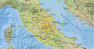 В Италии произошло землетрясение магнитудой 5,6: в Риме не работает метро, эвакуированы ряд школ