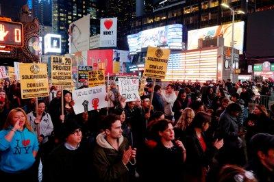 Инаугурация Трампа 2017: В Нью-Йорке на митинг вышли мэр города и голливудские актеры