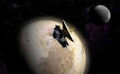 НАСА опубликовало цветной ролик «посадки» New Horizons на Плутон