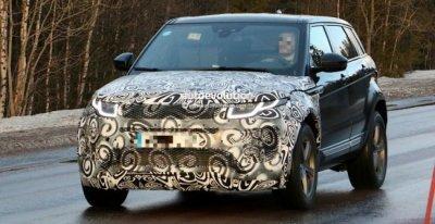 Range Rover Evoque II: в Сети появились первые фото прототипа