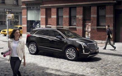 Cadillac XT5: в сети появилось фото обновленного кроссовера