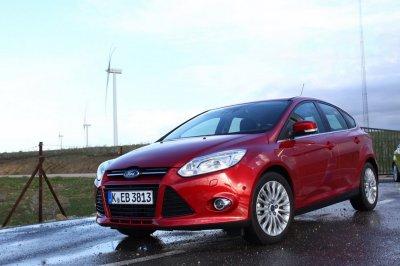 Ford Focus нового поколения прошел зимний тест-драйв