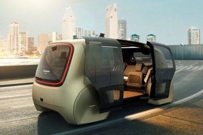 Volkswagen презентовал беспилотный автомобиль пятого уровня