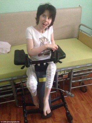 Девушка из Сербии очнулась после семи лет комы