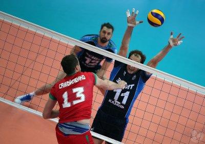 Волейбол, «раунд 6» плей-офф мужской Лиги чемпионов: московское «Динамо» вышло в следующий раунд