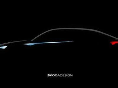 В Сети появился первый тизер электрического концепт-кара Skoda Vision E