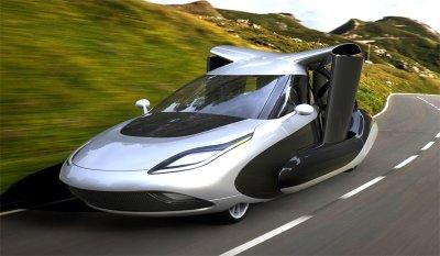 На автовыставке в Монако показали летающий автомобиль