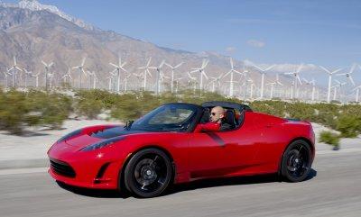 Tesla выпустит самый быстрый Roadster
