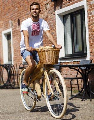 В Белоруссии начали производить велосипеды из березы и ясеня