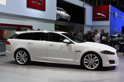 Новый универсал Jaguar XF представят через месяц