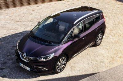 Renault представила Scenic и Grand Scenic в версии Initiale Paris