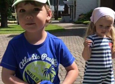 Максим Галкин продемонстрировал в Инстаграм музыкальные способности своих детей