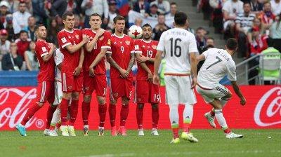 Россия - Мексика счет 1:2, обзор матча, видео голов Кубка конфедераций 2017