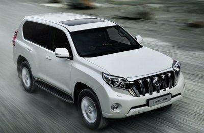 Снимки обновленного Toyota Land Cruiser Prado появились в интернете