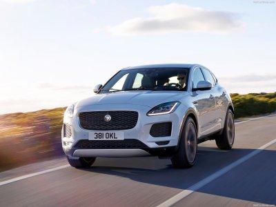 В Лондоне Jaguar презентовал новый кроссовер E-Pace