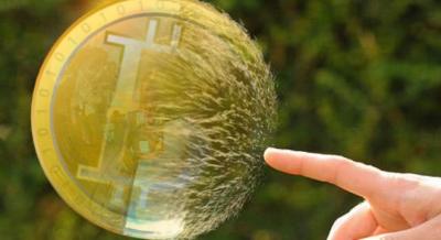 Американский экономист про биткоин: «пузырь лопнет»