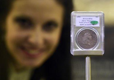 На аукционе во Флориде золотая монета продана за $750 тысяч