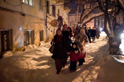 13 января - Васильева коляда, Васильев вечер