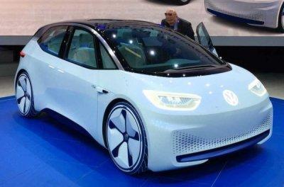 В 2019 году Volkswagen начнет серийное производство электрического хэтчбека I.D