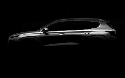 В Сети появились официальные снимки нового Hyundai Santa Fe