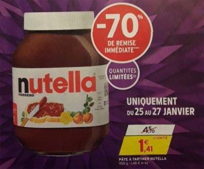 Загнивающий запад: французы устроили побоище из-за скидки на Nutella